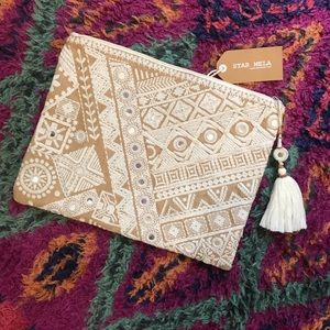 Star Mela Bags - NWT // Star Mela Handmade Makeup or Laptop Case
